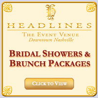 Bridal Showers & Brunch Packages